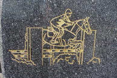 Stèle funéraire sur-mesure
