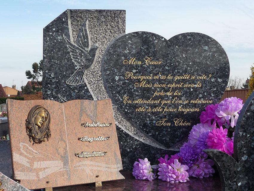 Coeur pour rendre hommage