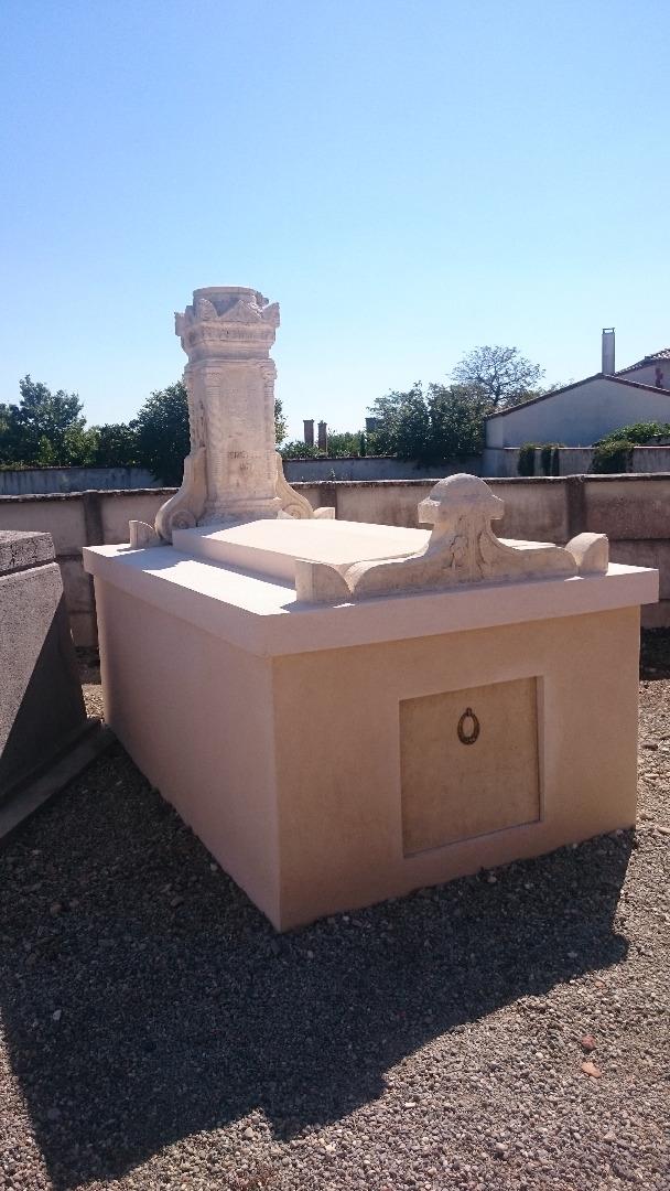 Rénovation de sépulture - APRES
