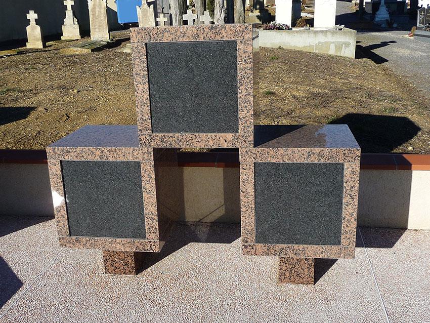 Columbarium pour urnes